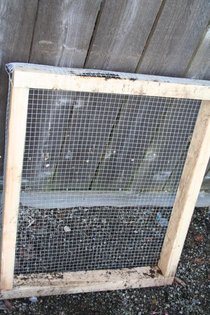 Make A Cheap Soil Sifter Sieve
