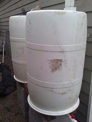 How To Setup Cheap Rain Barrels